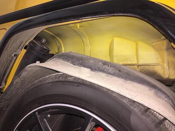 шумоизоляция арок колес авто