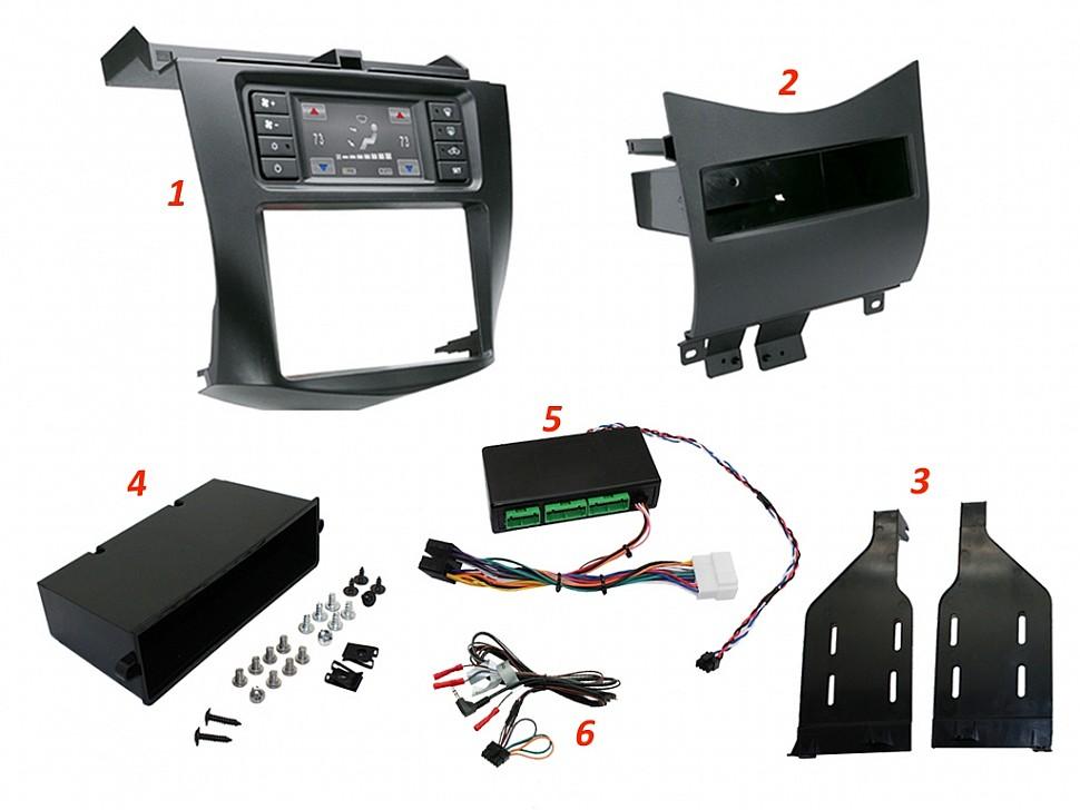 комплект для замены магнитолы Honda Accord 7 - Connects2 CTKPHD01