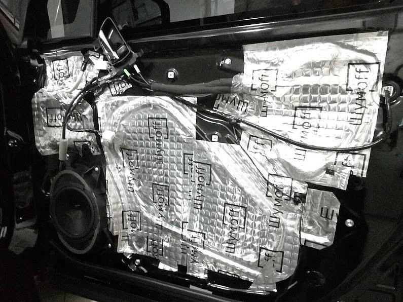 Шумоизоляция Subaru Forester 2017