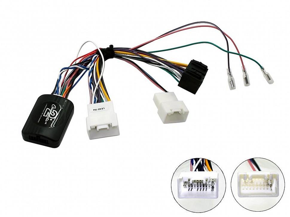 Адаптеры кнопок на руле для Mitsubishi Outlander 2013+ Connects2 CTSMT009.2 (с поддержкой штатного усилителя Rockford Fosgate)