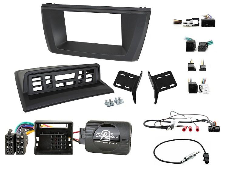 установочный комплект для замены штатной магнитолы BMW X3 E83