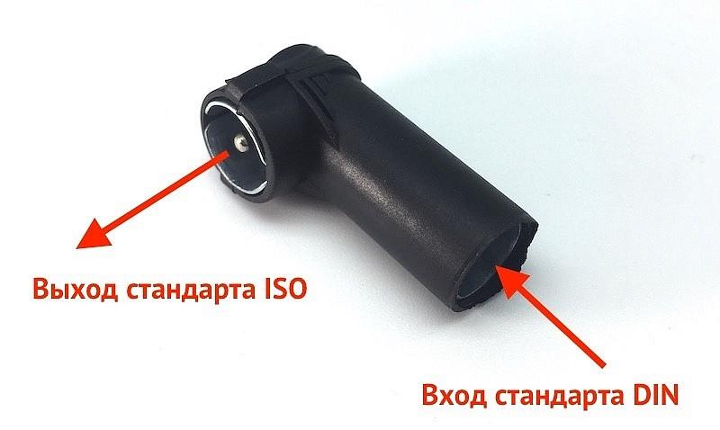 переходник DIN-ISO