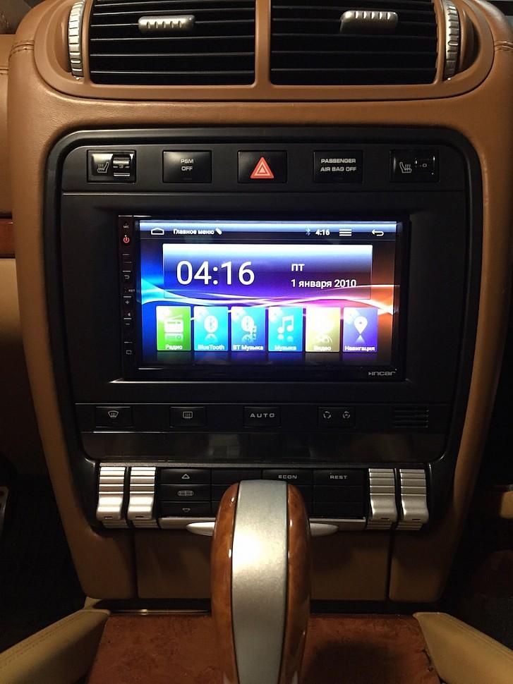 автомагнитола 2DIN на Андроид для Porsche Cayenne