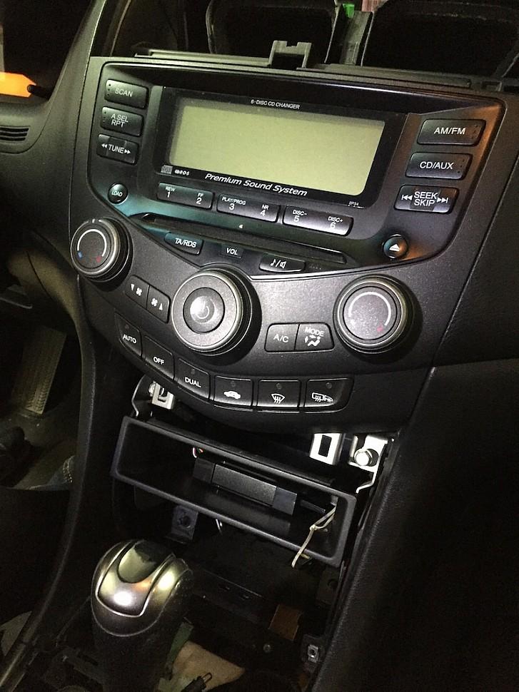 usb адаптер для штатной магнитолы Honda Accord