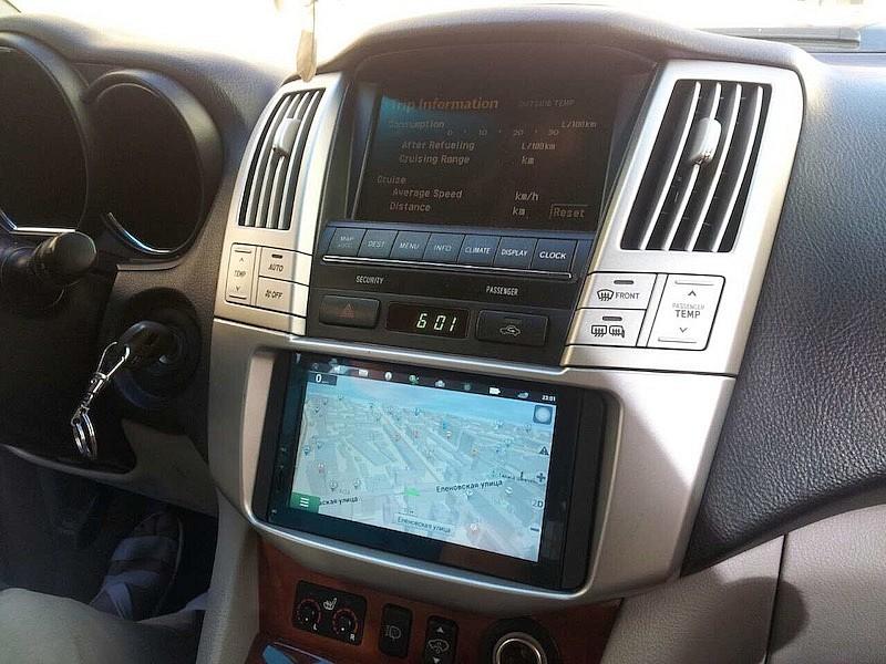 Магнитола 2DIN для Lexus RX 330