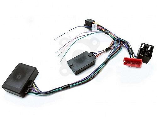 адаптер кнопок руля + адаптер штатного усилителя Audi