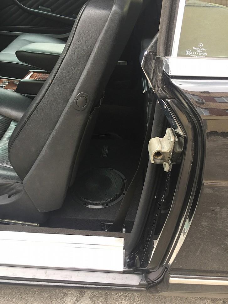 сабвуфер в машину