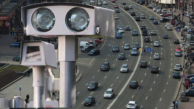 места расположения камер полиции: Киев, Харьков, Одесса, Днепропетровск, Запорожье
