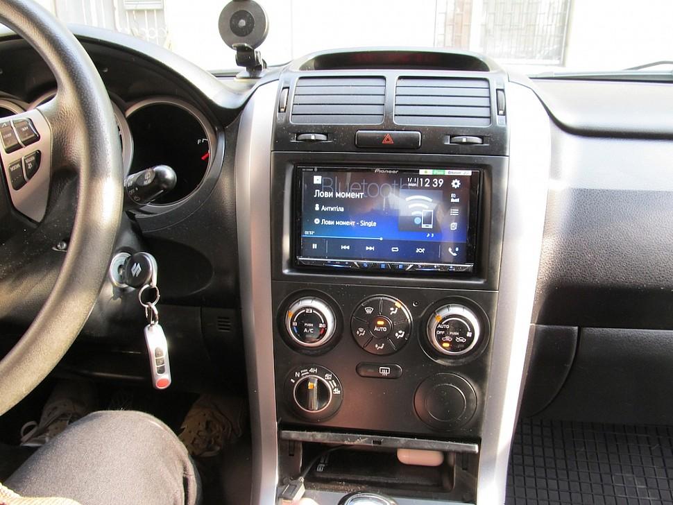 Автомагнитола с беспроводным CarPlay Pioneer AVH-Z9100BT для Suzuki Grand Vitara