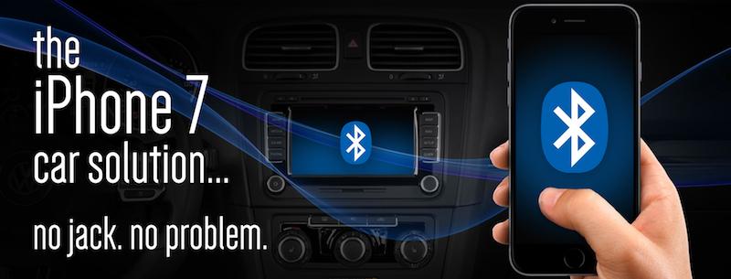 Renault и iPhone 7 - нет разъема - нет проблемы!