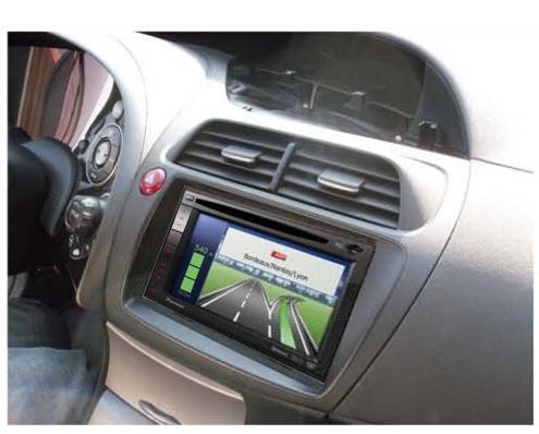 Honda Civic 5D замена штатной магнитолы