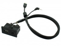 Connects2 CTVWUSB.2 удлинитель USB/AUX для VW Golf 7