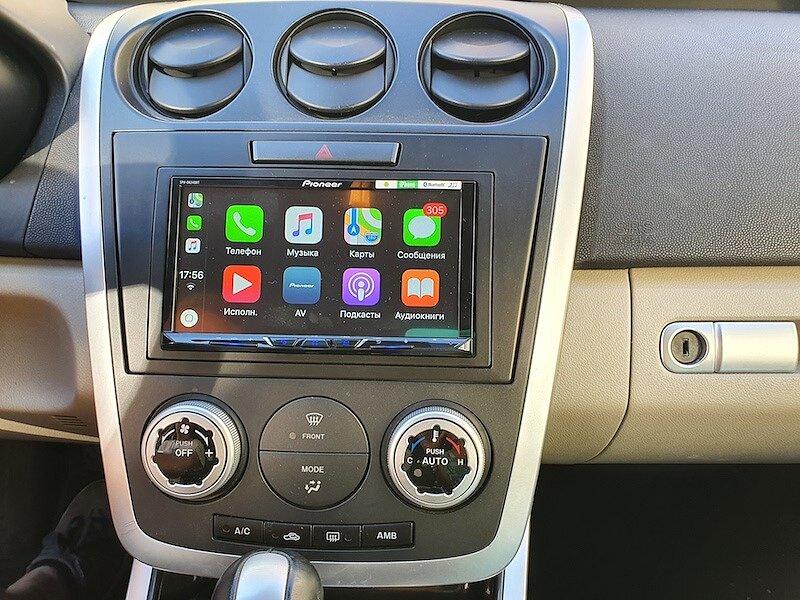 Как сохранить звук в Mazda CX-7 при замене штатной магнитолы?