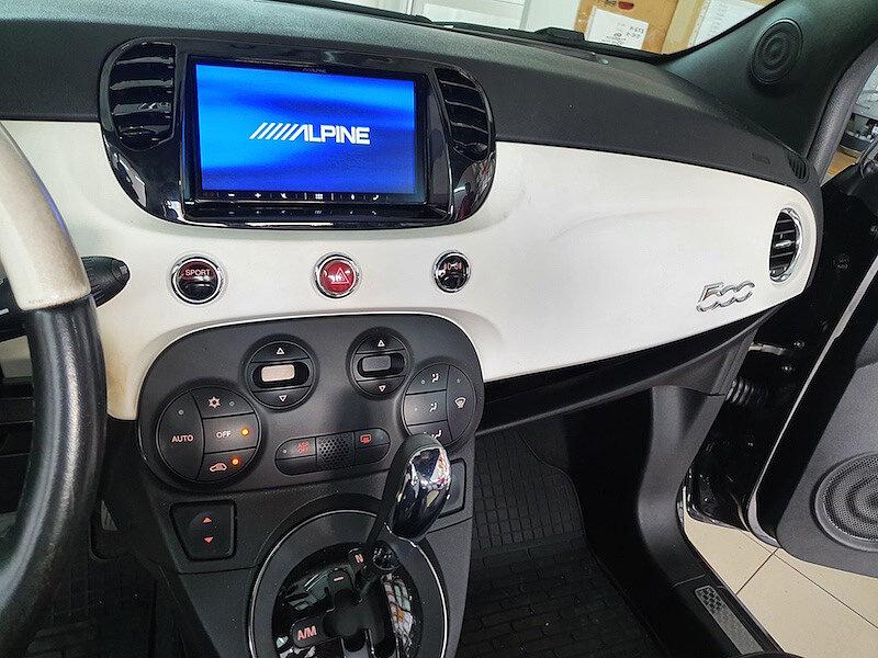 CarPlay/AndroidAuto для Fiat 500 Gucci - замена штатной магнитолы