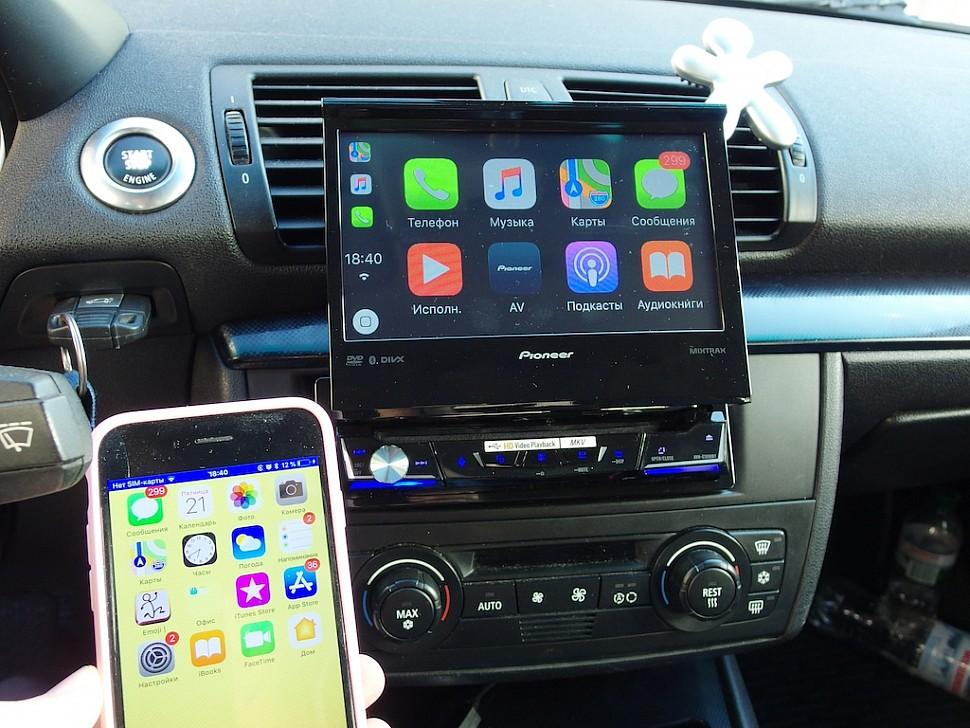 автомагнитола Pioneer с CarPlay