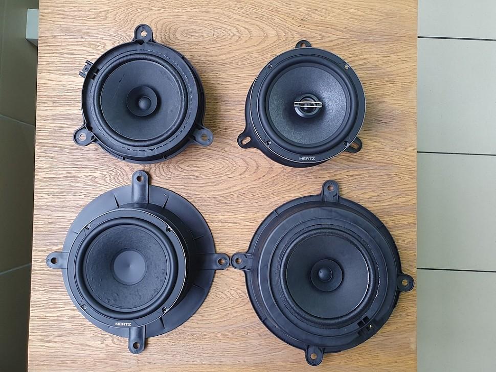 Замена заводской акустики Mazda 6
