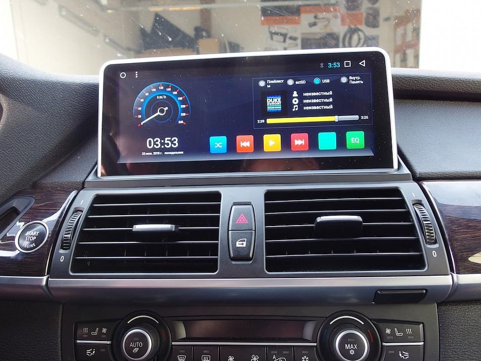 Штатная магнитола на Андроид для BMW X5 E70