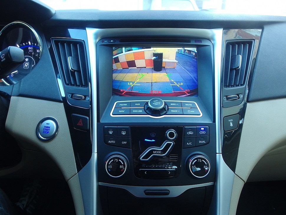 камера заднего вида Hyundai Sonata
