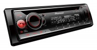 Pioneer DEH-S520BT автомагнитола 1DIN/CD/USB/AUX/Bluetooth/A2DP