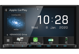 Kenwood DMX-8020DABS автомагнитола 2DIN/Bluetooth/CarPlay/AndoidAuto