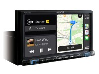 ALPINE INE-W720D автомагнитола 2DIN/CarPlay/AndroidAuto/GPS